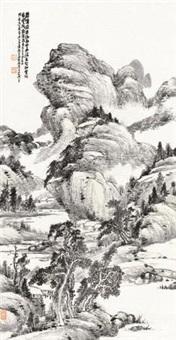 碧嶂云路图 by xiao junxian