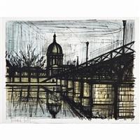 pont des arts by bernard buffet