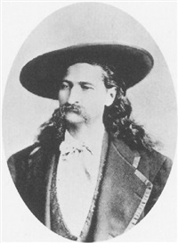 portrait of wild bill hickok by george g. rockwood