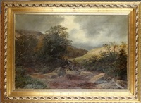 paysage au pays de galles by henry w. henley