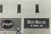 red rock cola, alabama by rudy burckhardt
