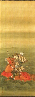 samurai am fluss (+ another; 2 works) by setsuan yoshizawa