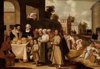 las siete obras de misericordia by hieronymus francken the younger