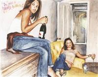 in the heazy babeh! guerilla lounging no. 7 by delia brown