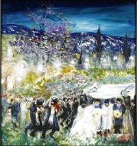 jewish wedding by huvy