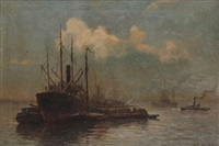 bateaux à vapeur by carl frederiksen