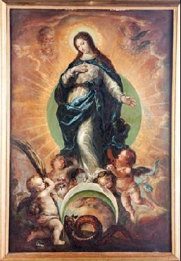 inmaculada by francisco camilo