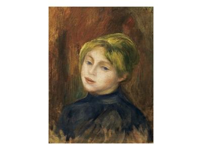 portrait de mlle catulle mendès by pierre auguste renoir