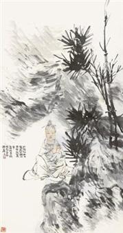 观音菩萨 by ren bonian