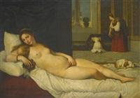 venus of urbino by titian (tiziano vecelli)