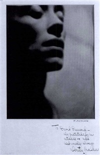 portrait of martha graham by r. samuels