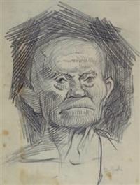 ritratto virile by domenico gnoli