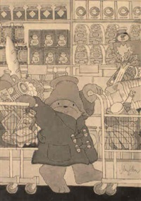 paddington goes shopping by john lobban