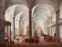 church interior by ignatz alois frey