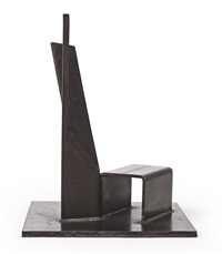 beside the light (maquette) by christopher wilmarth