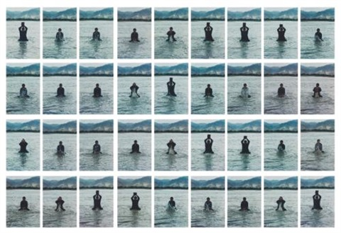 stamping the water in 36 parts by song dong