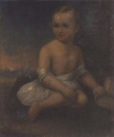 portrait of a child by thomas j jackson