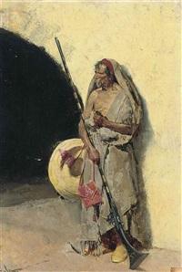 the old warrior by francisco peralta del campo