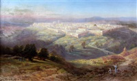 jerusalem from the mount of olives by samuel lawson booth