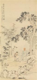 potrait of weng luo by fei danxu