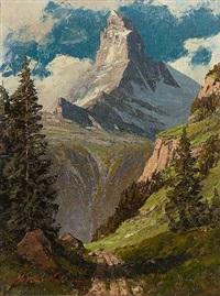 das matterhorn by leonore (leo) hiller-baumann