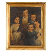 five children and a hobby horse by american school (19)