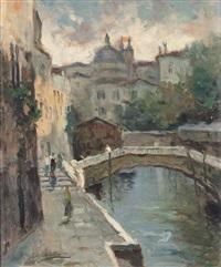 canale veneziano by alessandro catalani