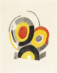 composition aux cercles concentriques by sonia delaunay-terk