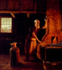 the blacksmith by paul mersereau