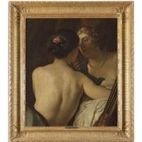 jupiter in the guise of diana seducing callisto by jacob adriaensz de backer