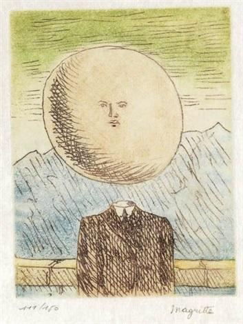 lart de vivre from le lien de paille by rené magritte