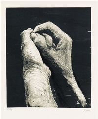 hands ii by henry moore