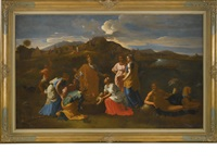 the finding of moses by nicolas poussin