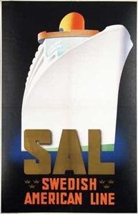 sal swedish american line by ake rittmark