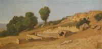 ruine, 13 août by henri gustave saltzmann