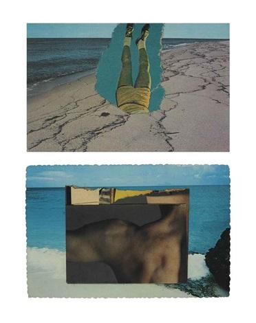 legs (beach scene) by ellsworth kelly