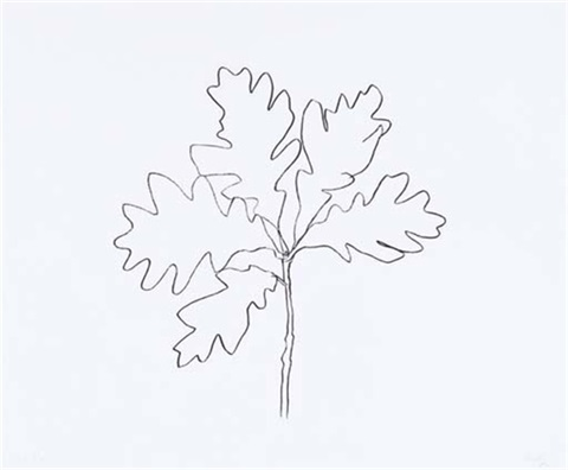 Oak Iii From Oak Leaves By Ellsworth Kelly On Artnet