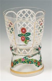 seltene vase by josef hoffmann
