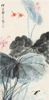 荷塘逸趣 by jiang hanting