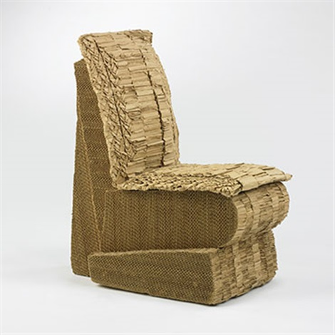sitting beaver chair by frank gehry