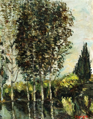 landscape by isaac frenel