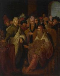 könig salomo erhält kostbare geschenke by ambrosius francken the elder