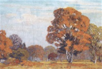 the four seasons on wimbledon common by alexander anichkov