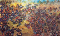 picket's charge, the battle of gettysburg by ferdie dr. pacheco