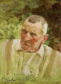 männerportrait by adolf reich