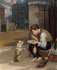 friends in need by augustus edwin mulready