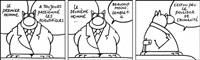 le deuxième homme (from et vous, chat va ?) by philippe geluck