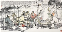 figures by wang hongxi