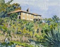 montagnola (casa rossa) by bruno hesse