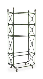 fourt-tier etagere by arthur court